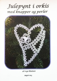 Julepynt i orkis med knapper og perler (Tatted Chritmas Decoration with buttons and pearls) B028